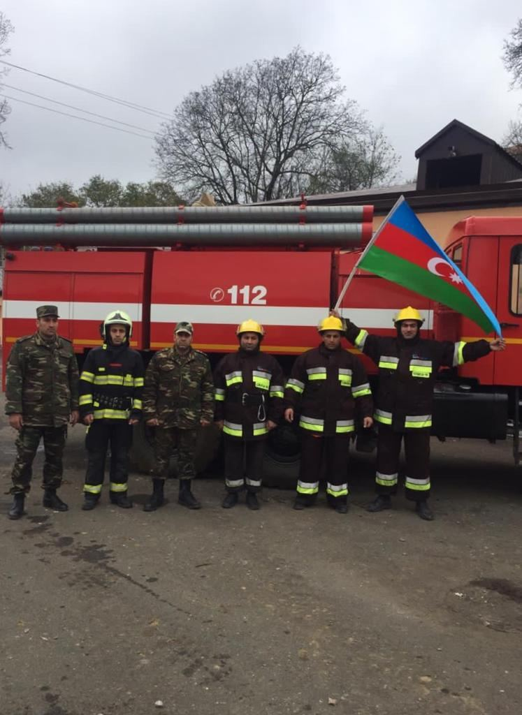 More fire departments put into operation in liberated Azerbaijani territories (PHOTO) - Gallery Image