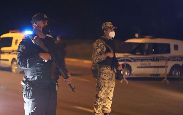 В Джабраиле задержаны лица, не подчинившиеся на комендантском посту приказу полиции