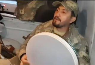 Азербайджанские солдаты не только отлично воюют, но и поют (ВИДЕО)