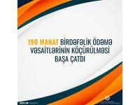 190 manat birdəfəlik ödəmə vəsaitlərinin köçürülməsi başa çatıb - Nazirlik - Gallery Thumbnail