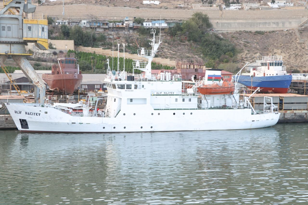 Azerbaijani vessel to conduct environmental research in Caspian Sea (PHOTO/VIDEO) - Gallery Image