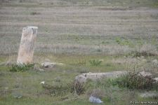 Armenians completely destroy cemetery in Fuzuli district (PHOTO) - Gallery Thumbnail