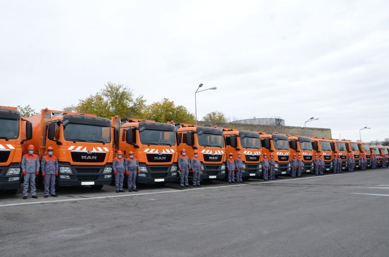 New special purpose vehicles delivered to Baku (PHOTO) - Gallery Image