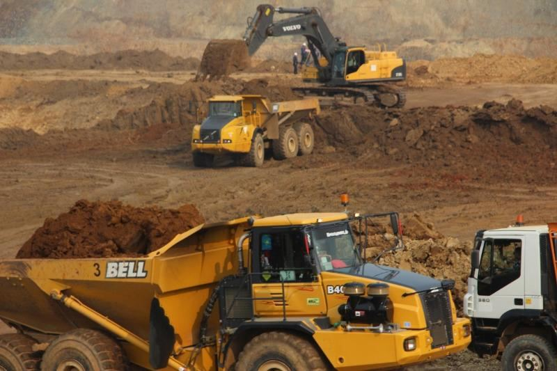 Gold, copper ores output decreases in volume in Kazakhstan