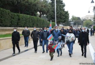 Victory march on liberation of Aghdam district held in Baku (PHOTOS)