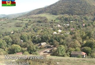 Azerbaijani president signs law renaming Tsakuri village in Khojavend district