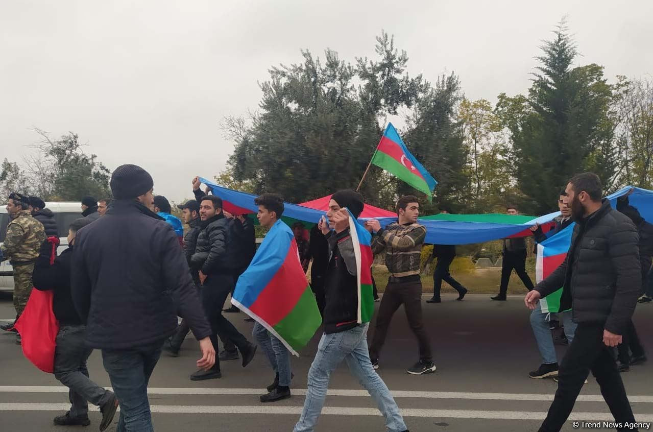 Aghdam residents hold festive march (PHOTO/VIDEO) - Gallery Image