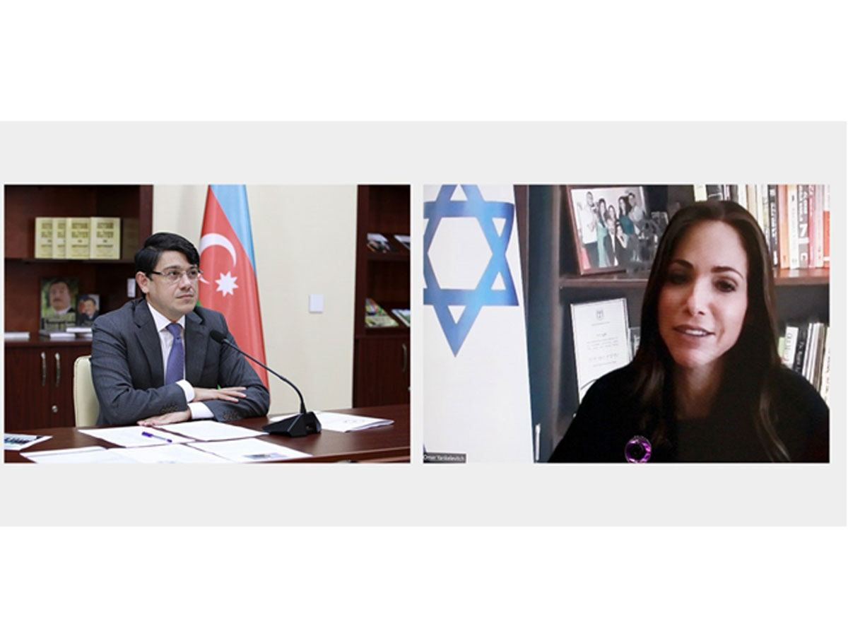 Israeli minister sends letter to chairman of Azerbaijani State Committee on Work with Diaspora