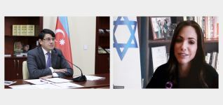 Israeli minister sends letter to chairman of Azerbaijani State Committee on Work with Diaspora - Gallery Thumbnail
