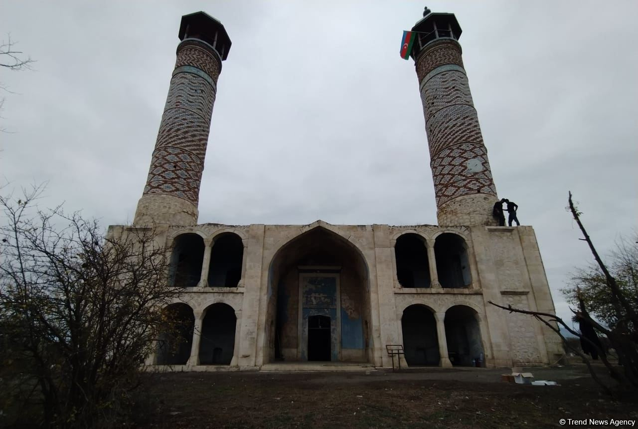 Azerbaijan issues photos from liberated Aghdam city