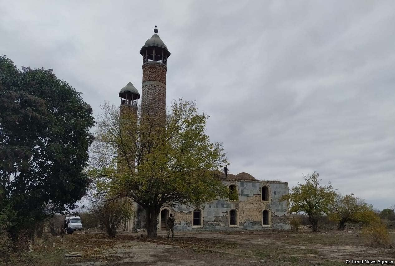 Azerbaijan issues photos from liberated Aghdam city - Gallery Image