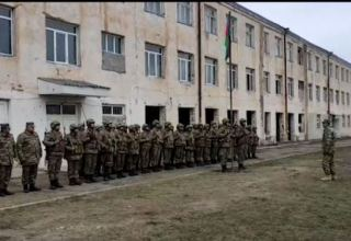 Flag of Azerbaijan raised at former secondary school of Gulabli village in Aghdam (PHOTO/VIDEO)