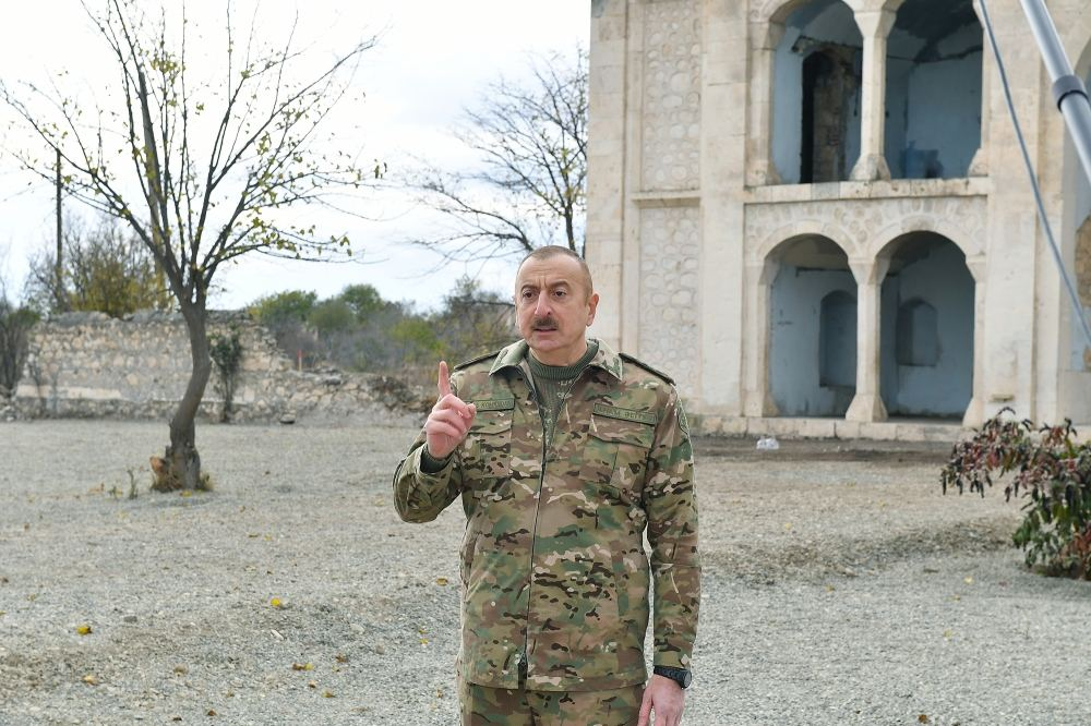 We will restore the city of Aghdam - President of Azerbaijan