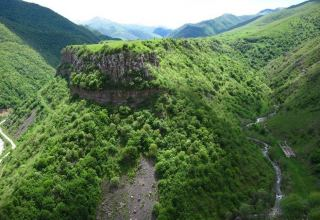 Kalbajar region of Azerbaijan being liberated from Armenian occupation today