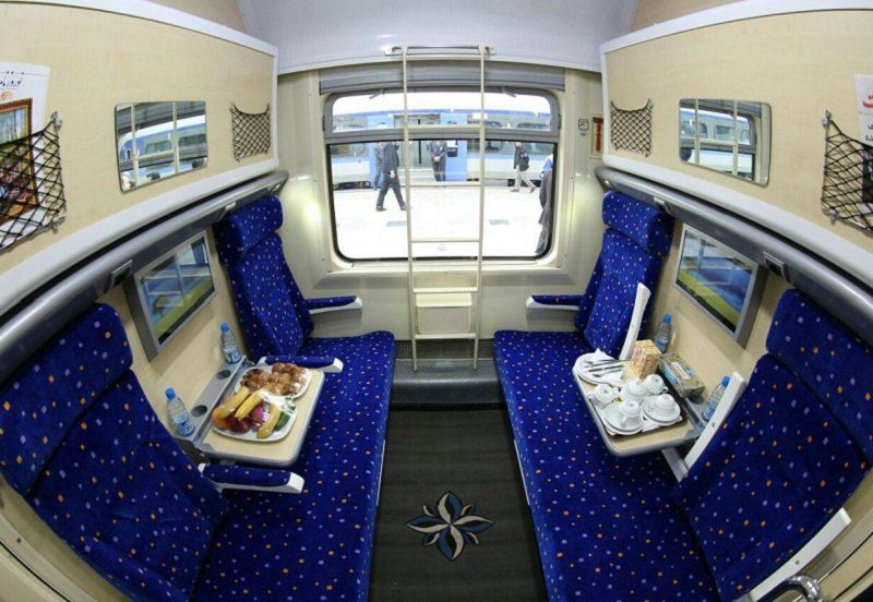 New railway vehicles put into operation in Iran