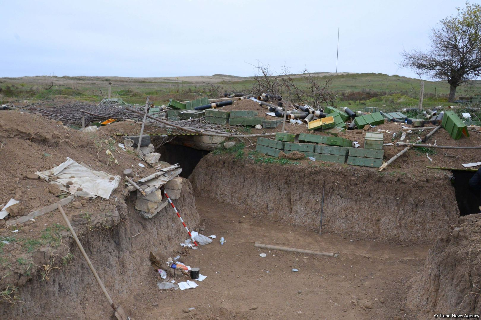 Destroyed Armenian positions firing at Azerbaijani army during recent hostilities shown (PHOTOS) - Gallery Image