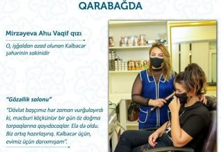 Özünüməşğulluq proqramı Kəlbəcərdə (FOTO)