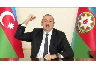 President Ilham Aliyev addressing the nation - LIVE (PHOTO)