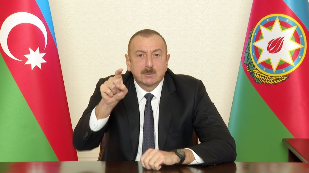 Pashinyan, where did you sign the act of capitulation? - President Aliyev