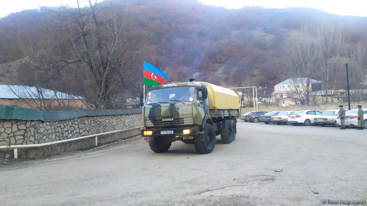 Азербайджанская армия выйдет в Кельбаджаре на госграницу и займет позиции на высотах - минобороны (ФОТО) - Gallery Image