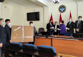 Group of German medical experts arrives in Kyrgyzstan to fight COVID-19