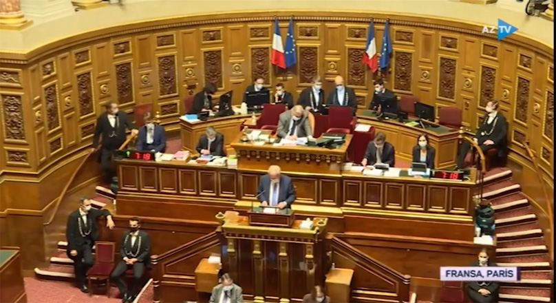 Many members of French Senate unaware war in Karabakh ended (VIDEO)
