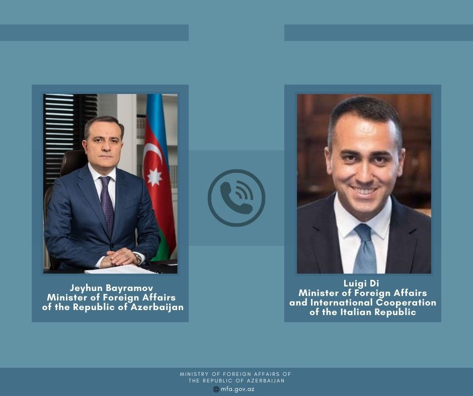 FMs of Azerbaijan, Italy discuss latest situation in region