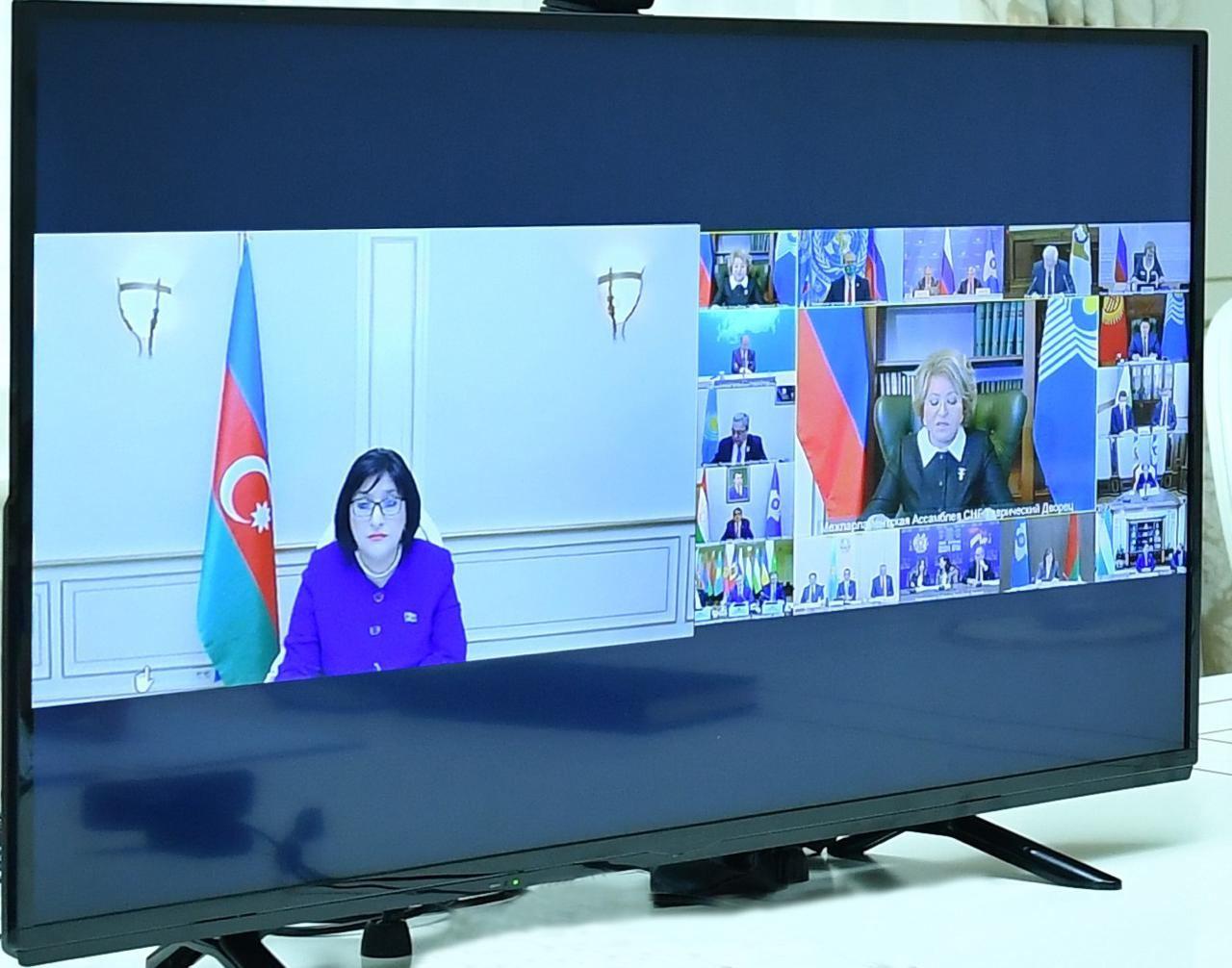 Sahibə Qafarova MDB PA-nın 51-ci plenar iclasında iştirak edib