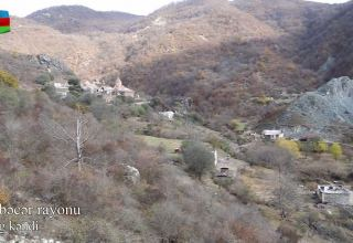 Azerbaijan shows footage of Kalbajar's Vang village (VIDEO)
