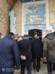 """Hikmət Hacıyev, diplomatik nümayəndələr və """"Qarabağ"""" klubu Ağdam məscidində (FOTO) - Gallery Thumbnail"""