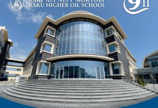 Baku Higher Oil School celebrates its 9th anniversary