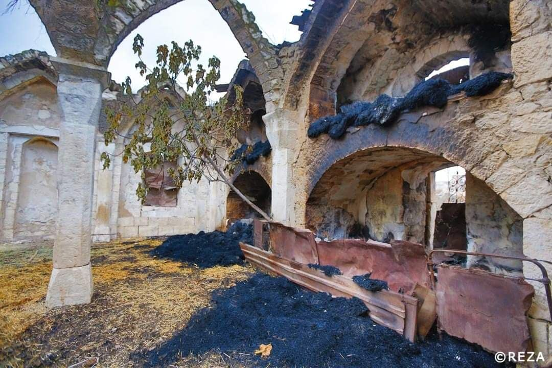 Cemeteries destroyed, mosques used as cowsheds in Karabakh - renowned French photographer (PHOTOS) - Gallery Image
