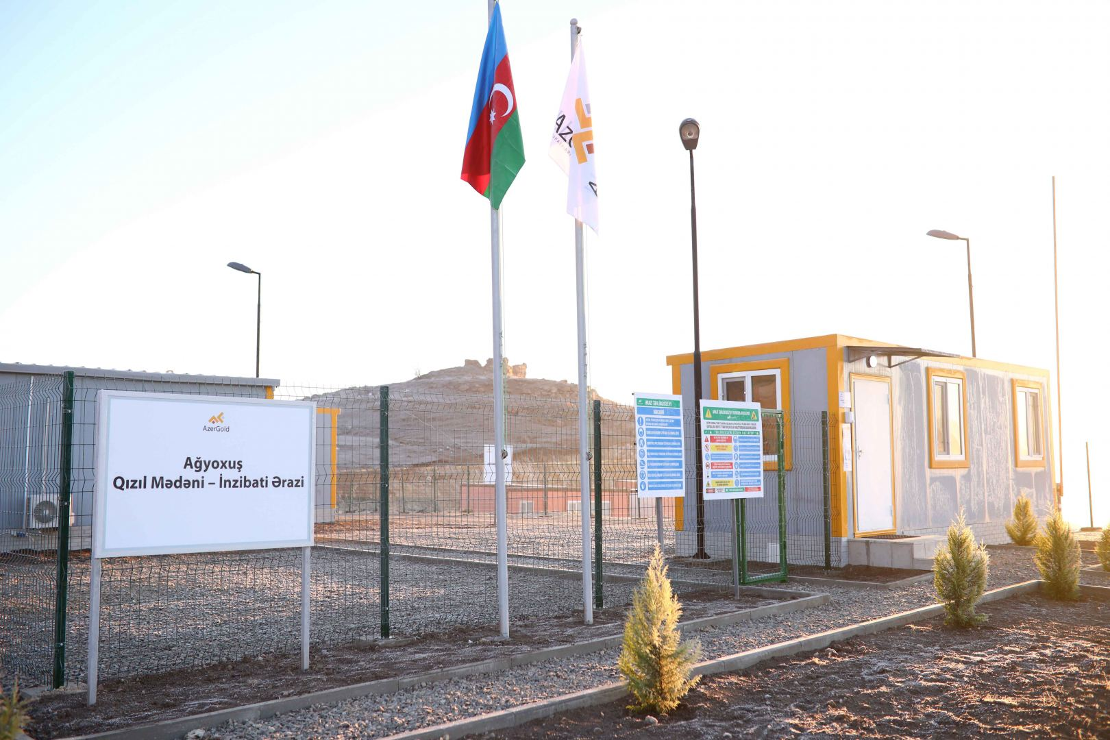 Azerbaijan commissions Aghyokhush gold field (PHOTO) - Gallery Image