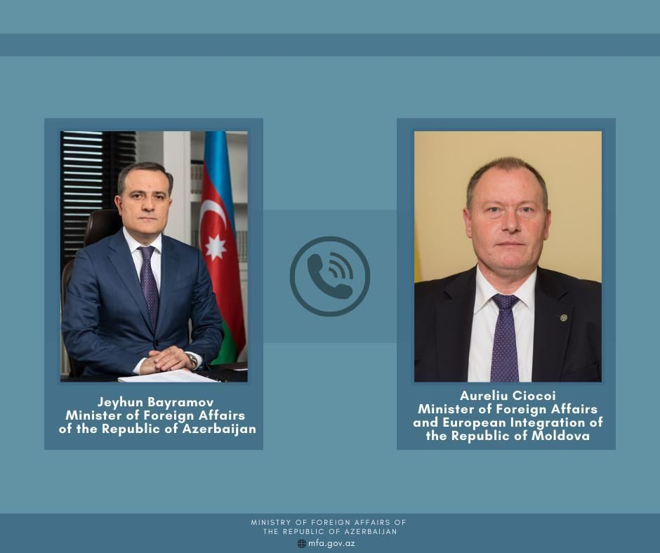 Azerbaijani FM, Moldovan minister exchange views on latest situation in region