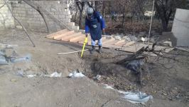 Suqovuşana çəkiləcək avtomobil yolunun minalardan təmizlənilməsi əməliyyatı davam edir (FOTO) - Gallery Thumbnail