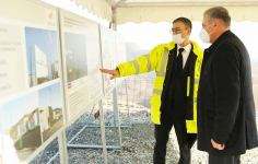 Azerbaijan commissions Aghyokhush gold field (PHOTO) - Gallery Thumbnail