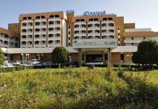 Afrosiyob Palace hotel in Uzbekistan's Samarkand region put up for auction