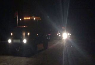 Units of Azerbaijani Army enter Lachin region (VIDEO)