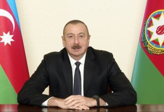 Most of our forests remain intact because enemy could not get into these forests - President of Azerbaijan