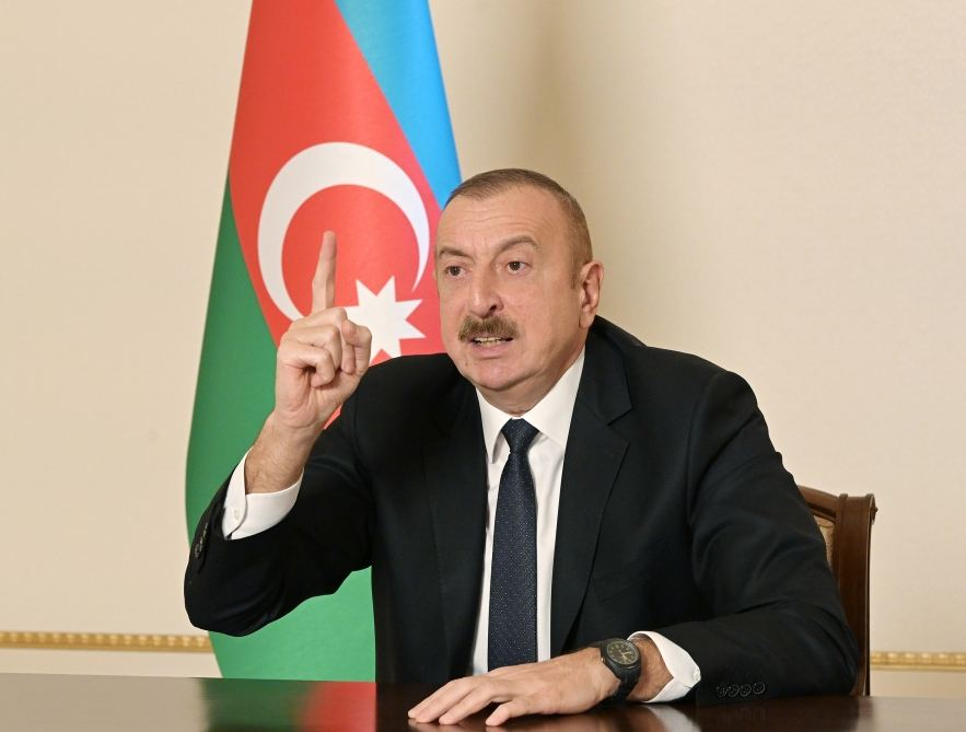 In matter of 44 days, we destroyed equipment Armenia been collecting for 30 years - President Aliyev