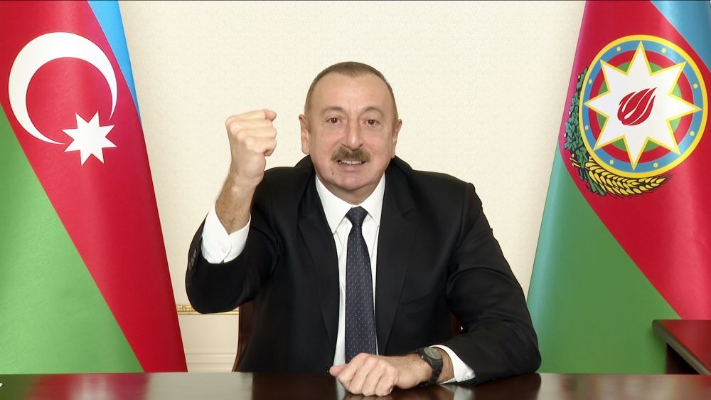 New reality emerged in our region, Azerbaijan created this reality - President Aliyev