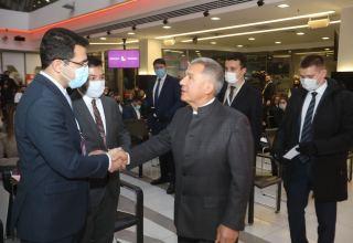 Kazanda 6-cı İƏT Gənc Sahibkarlar Forumu keçirilib (FOTO)