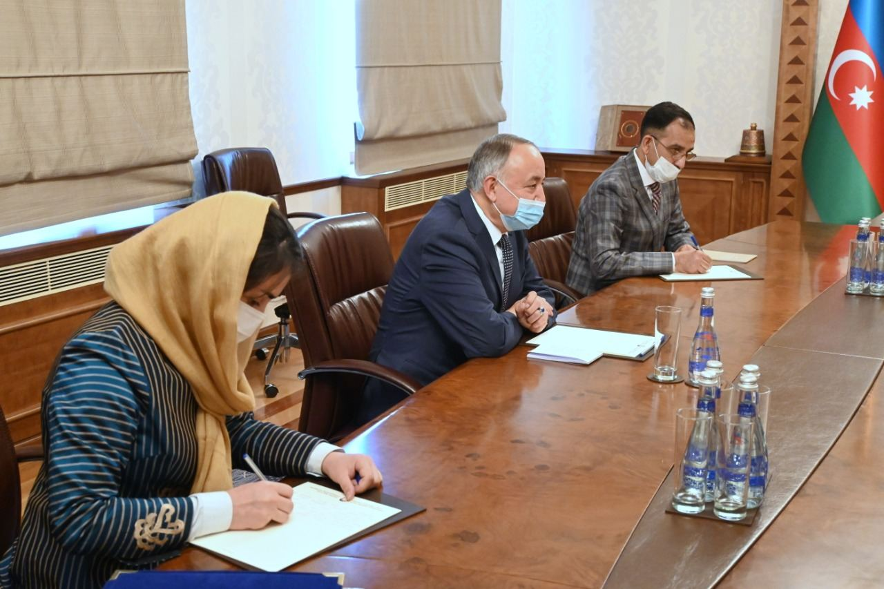 Azerbaijani FM meets newly appointed Afghan ambassador (PHOTO) - Gallery Image