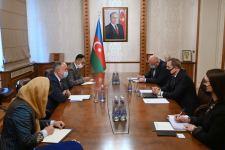 Azerbaijani FM meets newly appointed Afghan ambassador (PHOTO) - Gallery Thumbnail