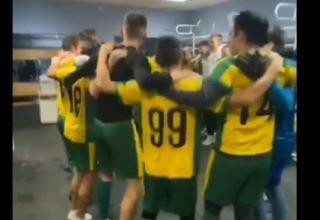 Очень трогательно! Российская футбольная команда посвятила победу Азербайджану воинским приветствием (ВИДЕО)