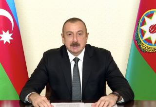 It is through coordinated, concerted global response based on unity, multilateral cooperation that international community can craft strategies to mitigate effects of COVID-19 - President Aliyev