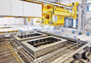 Enterprise for production of reinforced concrete launched in Turkmenistan