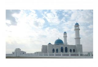 Turkmenistan builts new mosque in Afghanistan's Akina town (PHOTO)