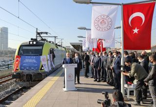 1st China-bound freight train departs on 12-day journey from Istanbul