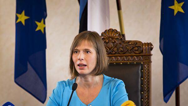 Estoniya prezidenti özünü təcrid edir